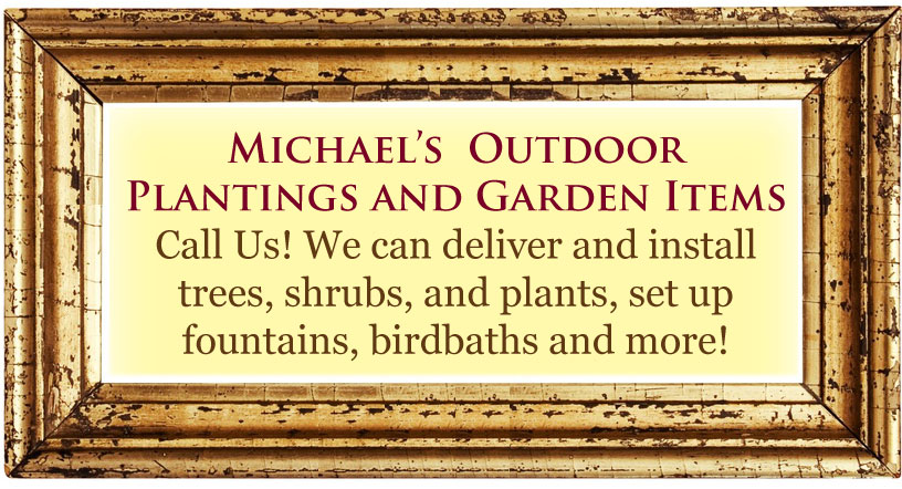 We deliver and install trees and shrubs